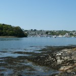 St Mawes and Cellars Beach from the slip