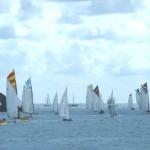 Working boats and Sunbeams Falmouth Week